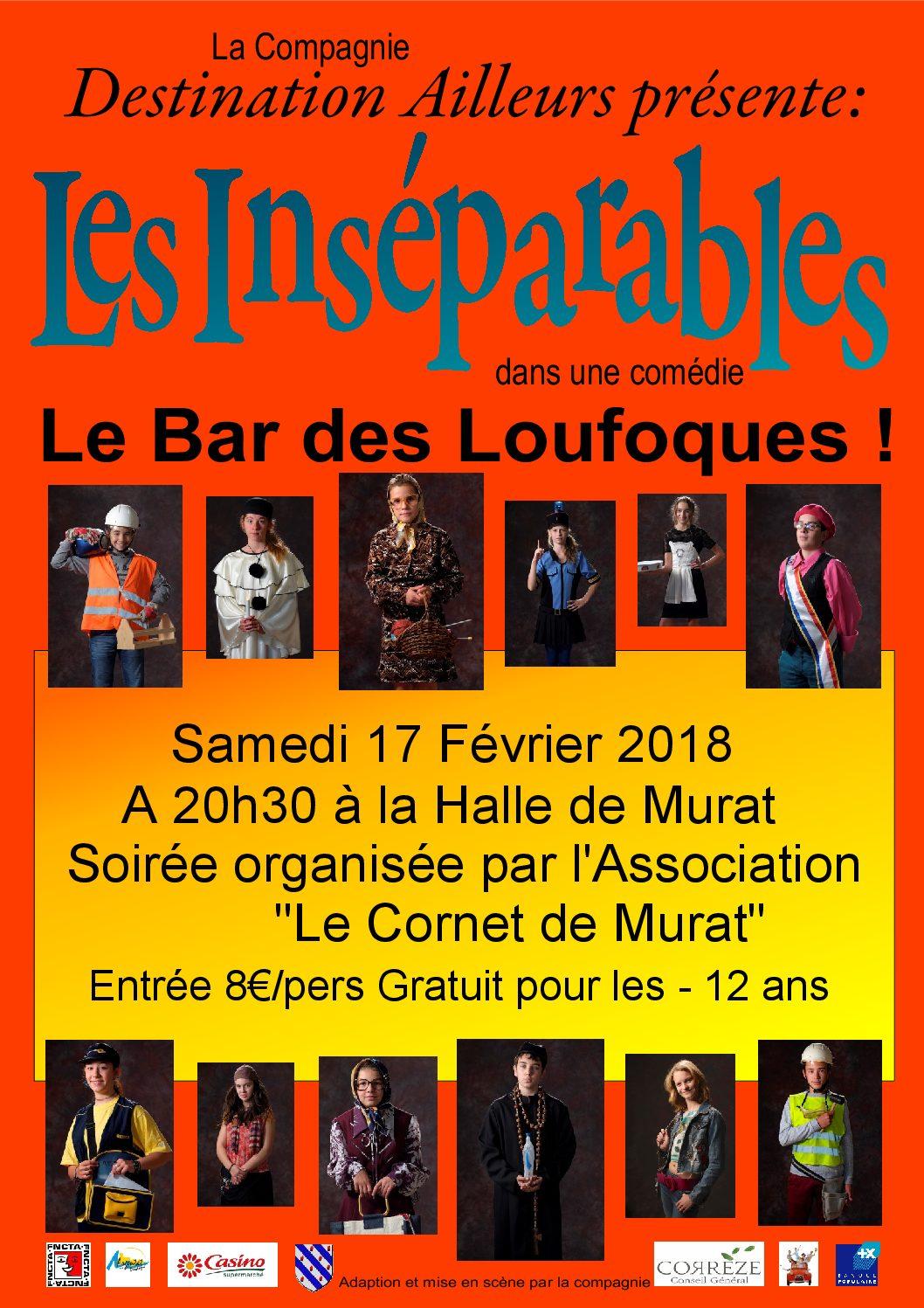 Soirée Théâtrale le Samedi 17 Février 2018