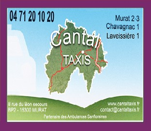 Cantal Taxis