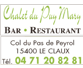 Chalet du Puy Mary