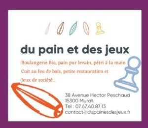 Du Pain et des Jeux