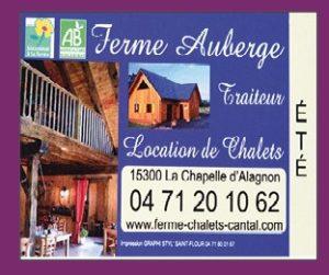 Ferme Auberge La Chapelle d'Alagnon