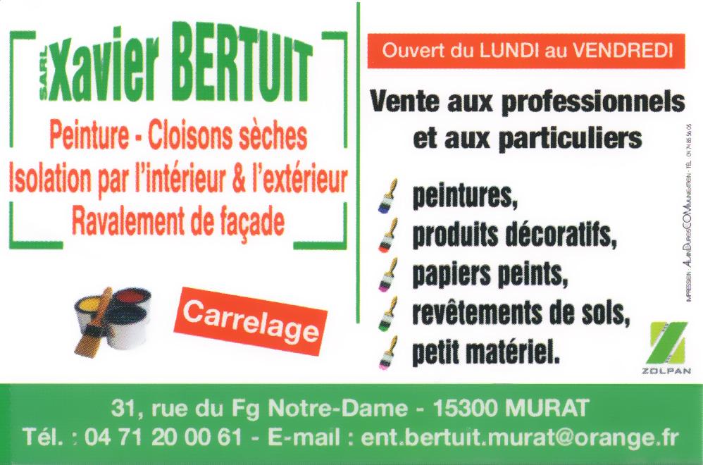 Xavier BERTUIT