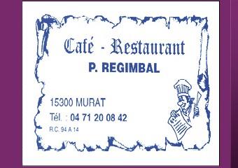 Café REGIMBAL