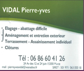 VIDAL Pierre Yves